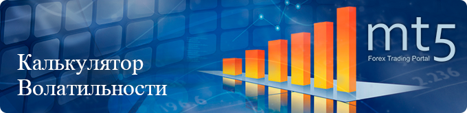 Расчет и графики волатильности для основных, экзотических валютных пар и кросс-курсов.