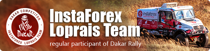 Official Dakar Rally Team - InstaForex Loprais Team