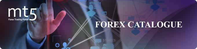MT5 Forex catalogue